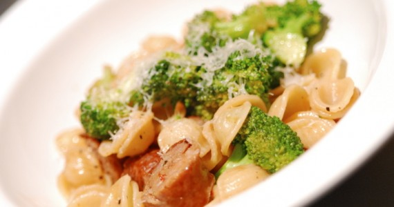 Orecchiette with Broccoli and Sausage