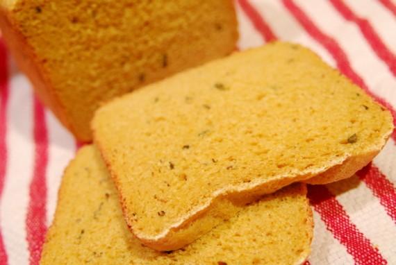 Curry Bread Closeup