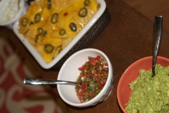 Nachos with the Fixins