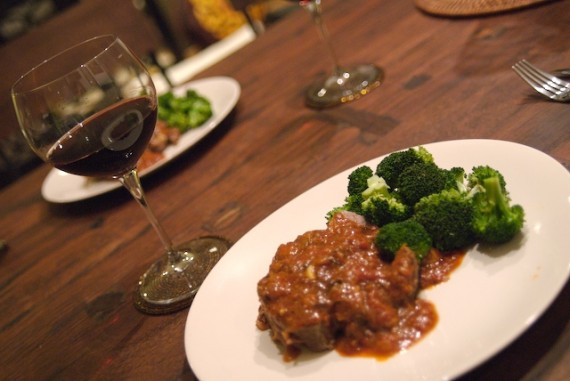 Braised Leg of Lamb with Brunello