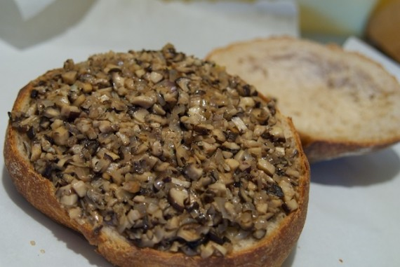 Topping the Shooter's Sandwich with Mushrooms