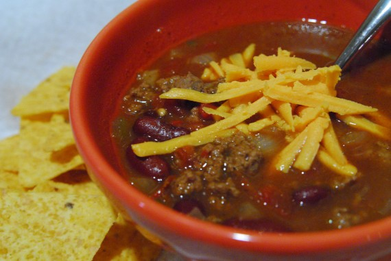 Courtney's Beef & Bean Chili