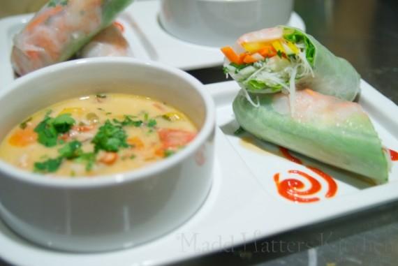 Thai-style Soup & Sandwich