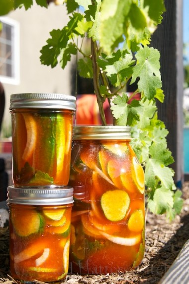 Madd Hatter's Kitchen » Sriracha Fridge Pickles