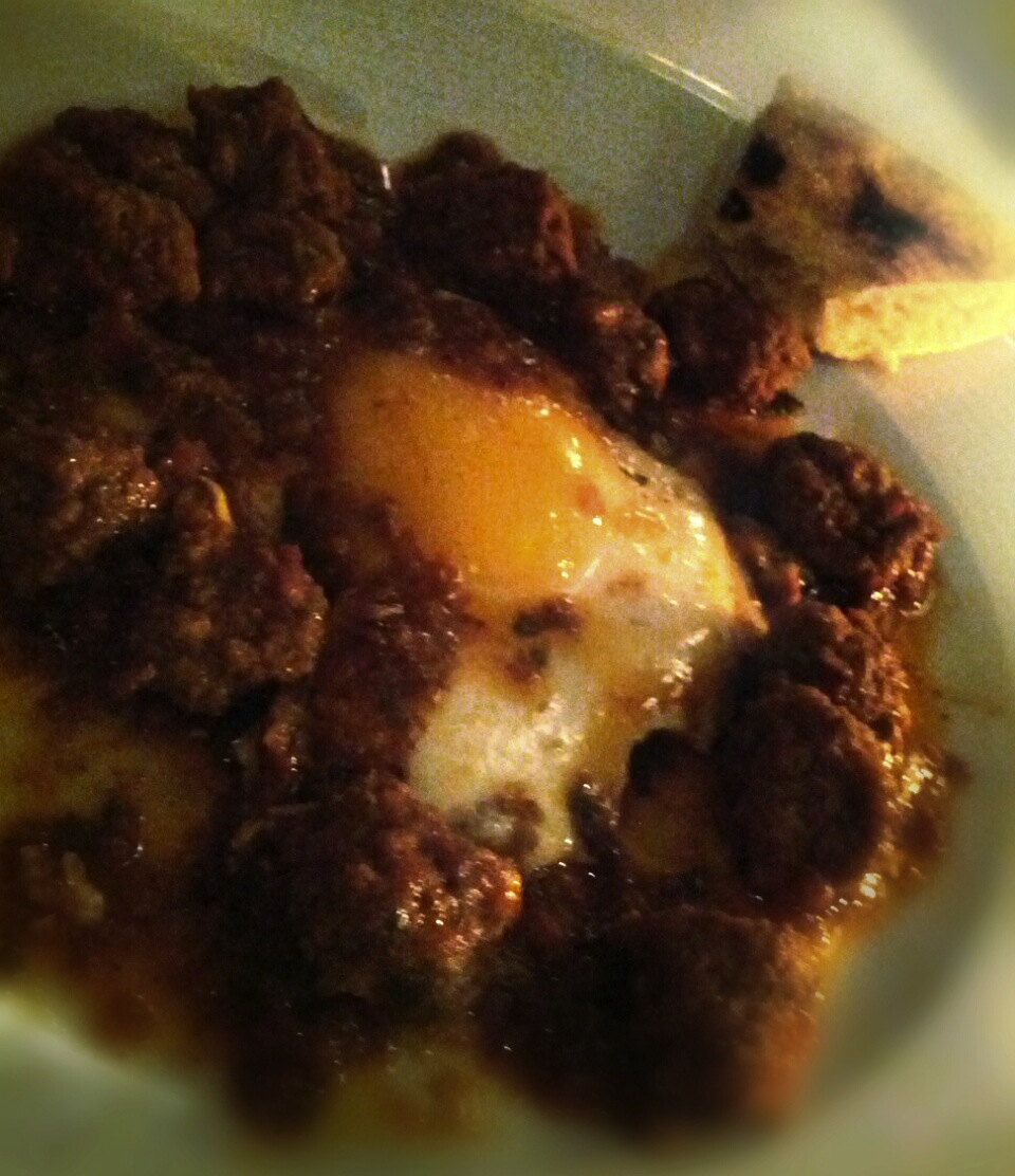 Meatball Tagine with Egg