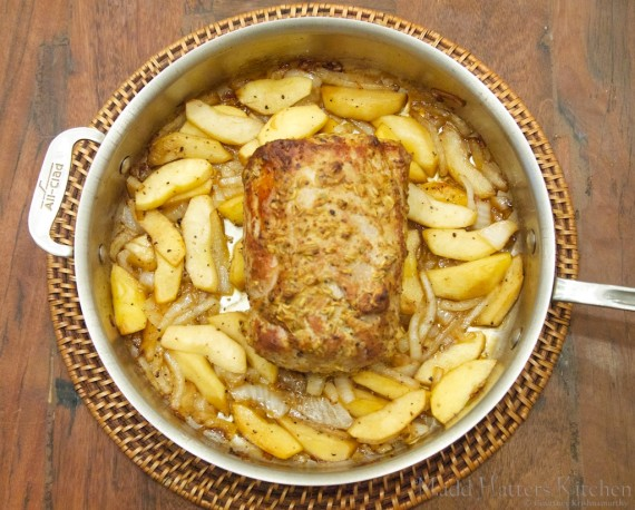 Pork Loin with Apples and Onions