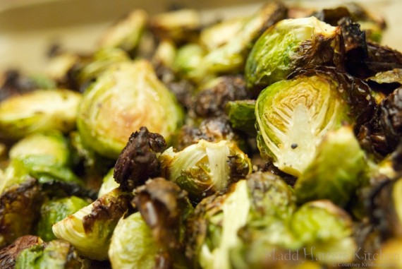 Salt Roasted Brussels Sprouts