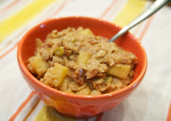 Grown up apples-n-cinnamon oatmeal