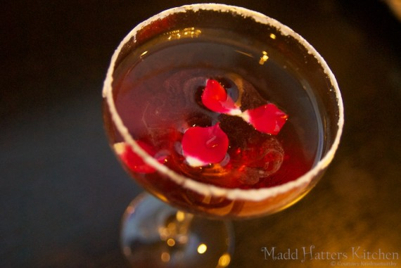 Turkish Delight Martini
